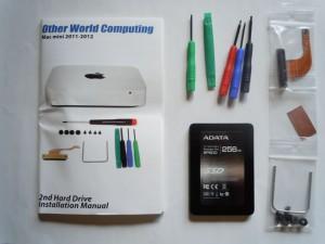Mac mini 2011/2012モデル用 OWC Data Doubler 2.5インチハードディスク/SSD取り付けキット