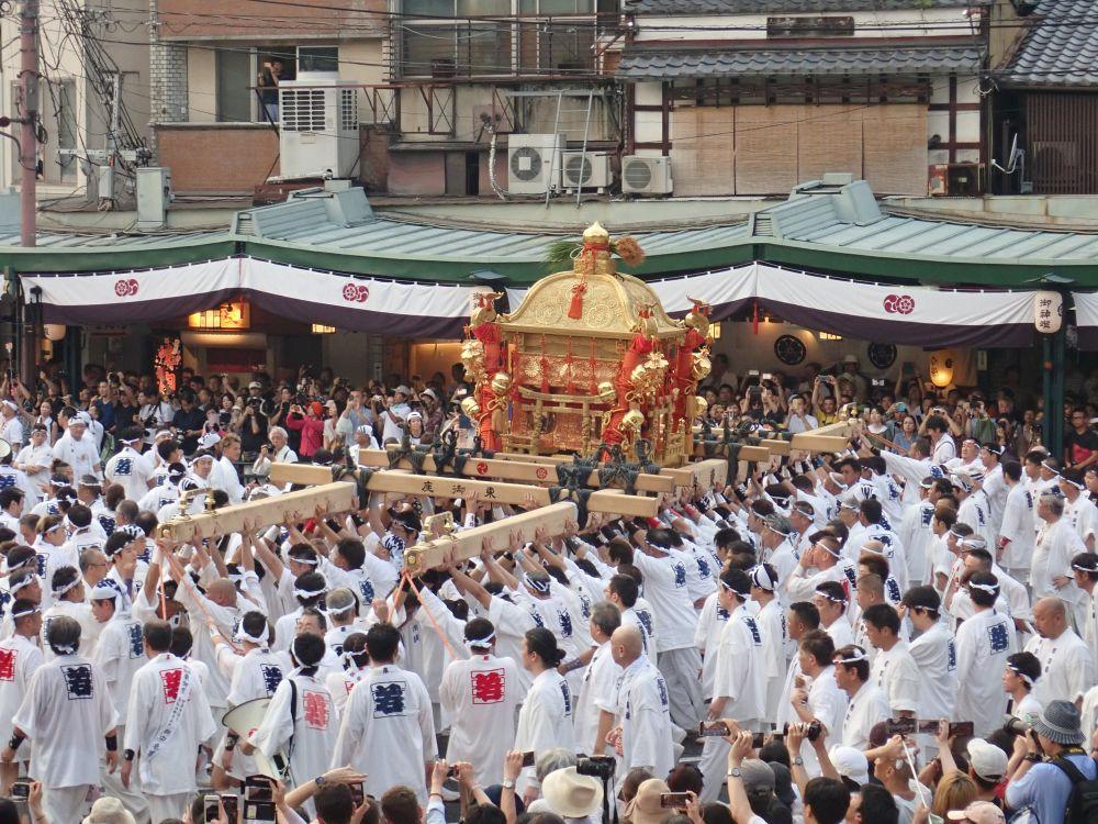 京都祇園祭の神幸祭を撮影に | お祭り評論家 山本哲也公式ブログ 面白 ...